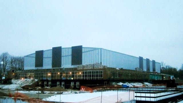 Дворец спорта «Кристалл» - сметный проект