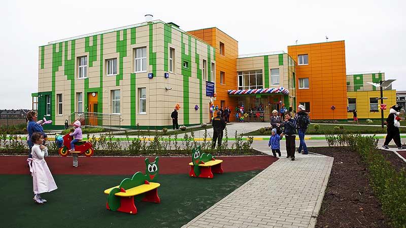 Детский сад на 125 мест