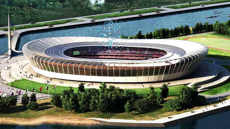 Стадион ЧМ-2018 г. Нижний Новгород