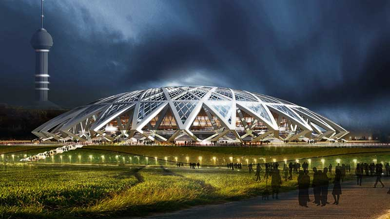 Стадион ЧМ-2018 г. Самара