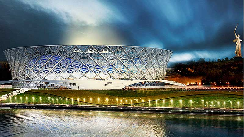 Футбольный стадион ЧМ-2018 г. Волгоград - сметный проект
