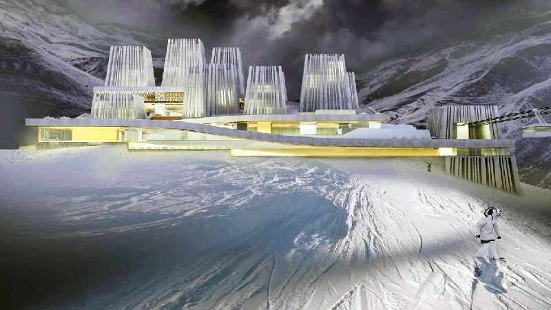 Горнолыжный курорт Ведучи - сметный проект