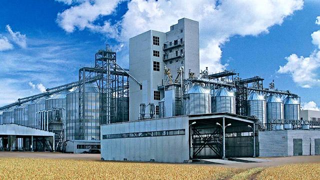 Завод по переработке кукурузы
