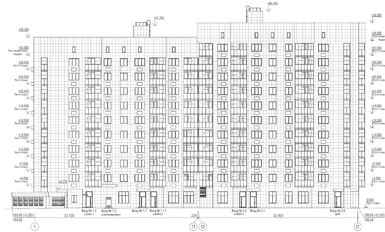 Жилой дом ул.Шверника - сметный проект под проект реиновации Москвы